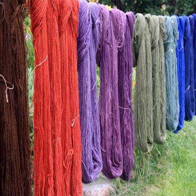 Surrey Docks Farm Natural Dye Workshop - Saturday 22nd October 2pm-4pm