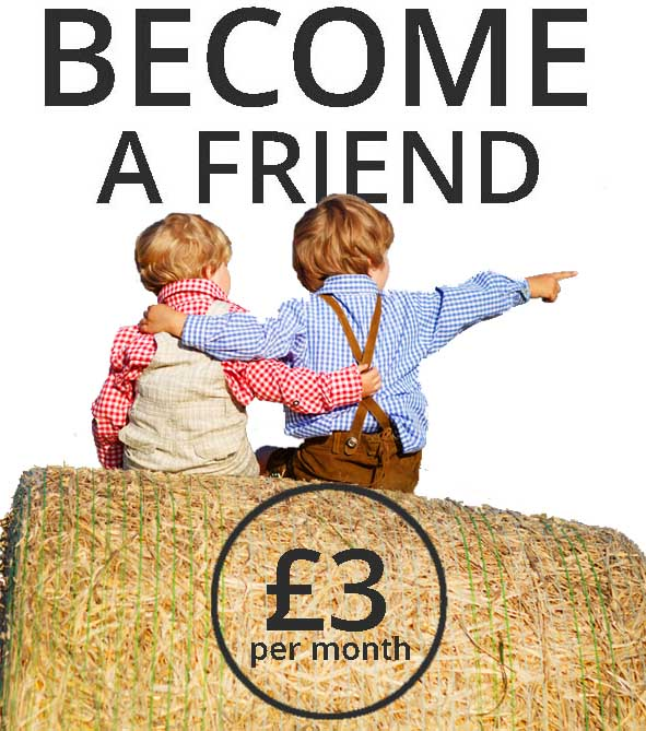Become a friend of the farm